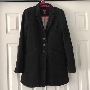 Zara dark gray coat